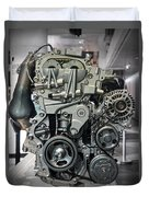 Toyota Engine Duvet Cover