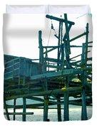 Trabocco 3 - Fishermen Stuff Duvet Cover