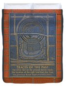Traces Of The Past Busch Stadium Dsc01113 Duvet Cover