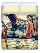 Tractor Dash - Farmall 560 Diesel Duvet Cover