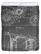 Tractor Patent Duvet Cover