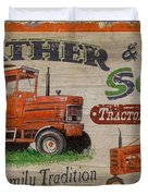 Tractor Supplies Duvet Cover by JQ Licensing