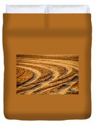 Tractor Tracks Duvet Cover