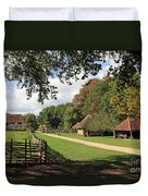 Traditional Countryside Britain Duvet Cover