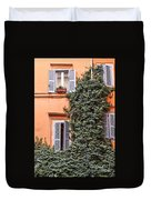 Traditional House Rome Italy Duvet Cover