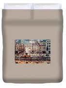 Trafalgar Square London Duvet Cover by Diana Angstadt