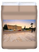 traffic at Syntagma Duvet Cover