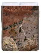 Trail Into The Past Duvet Cover