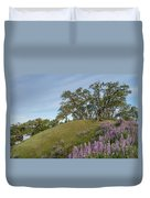 Trail Of Lupine Duvet Cover