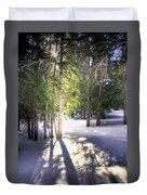 Trail To Bear Lake 4490 Duvet Cover