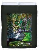 Trail To Broke-off Duvet Cover