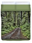 Trail To Jaw Bone Flats Duvet Cover