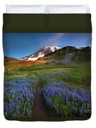 Trail To Majesty Duvet Cover