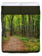 Trail To Miners Falls Duvet Cover