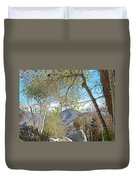 Trailhead Area In Andreas Canyon In Indian Canyons-ca Duvet Cover