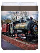Train At Olmsted Falls - 1 Duvet Cover