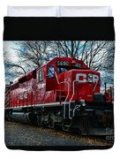 Train - Canadian Pacific 5690 Duvet Cover
