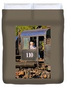 Train Conductor Duvet Cover