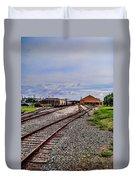 Train Depot Duvet Cover