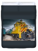 Santa Fe Southern Railway Engine Duvet Cover