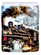 Train II Duvet Cover