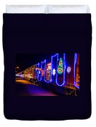 Train Of Lights Duvet Cover