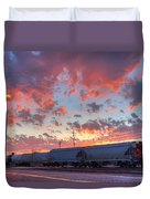Train Setting Duvet Cover