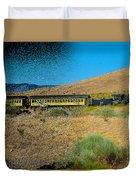 Train-sitions Duvet Cover