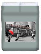 Train Station Alexanderplatz Duvet Cover