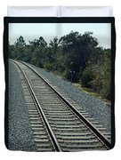 Train Tracks Duvet Cover