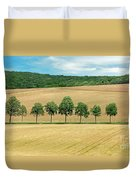 Train With A View Duvet Cover