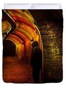 Trajectum Lumen Project. Ganzenmarkt Tunnel 9. Netherlands Duvet Cover
