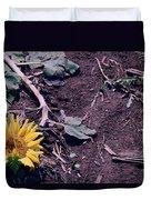 Trampled Sunflower Duvet Cover