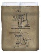 Tramway Fender Patent Duvet Cover