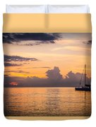 Tranquil Cruise Duvet Cover