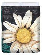 Tranquil Daisy 2 Duvet Cover