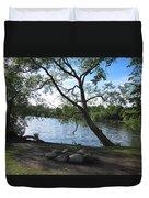 Tranquil Lake Duvet Cover