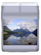 Tranquility Alouette Lake - Golden Ears Prov. Park, British Columbia Duvet Cover