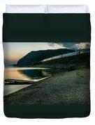 Trans Siberian Sunset Duvet Cover