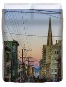 Transamerican Urbanism Duvet Cover