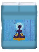 Transcendental Meditation Duvet Cover