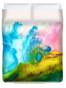 Transformation - Abstract Art By Sharon Cummings Duvet Cover by Sharon Cummings