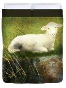 Transformation Lamb Or Lion Duvet Cover