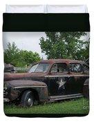 Transportation - Classic - Highway Patrol Duvet Cover