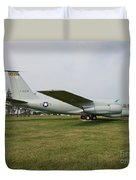 Transportation - Us Air Force - Airplane  Duvet Cover