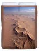 Transverse Sand Dune Namib-naukluft Np Duvet Cover