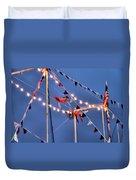 Trapeze Blur Duvet Cover