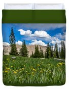 Trappers Lake Meadow Duvet Cover