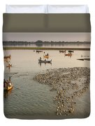 Travel Images Of Burma Duvet Cover