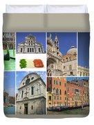 Travel To Venice  Duvet Cover